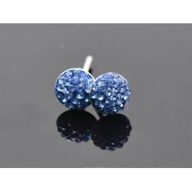 2972 -Swarovski Elements Ring diametrul 15.6mm Peridot PP18