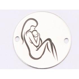 2984-Swarovski Elements Ring diametrul 15.6mm Capri Blue PP18