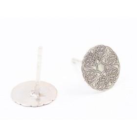 2987-Swarovski Elements Ring diametrul 15.6mm Light Sapphire PP18