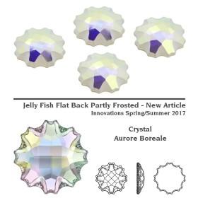 P1296-Swarovski Elements 1088 Crystal Blue Shade SS34 7mm