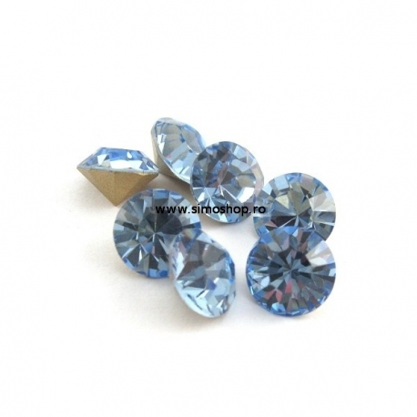 P1296-Swarovski Elements 1088 Crystal Blue Shade SS34 7mm