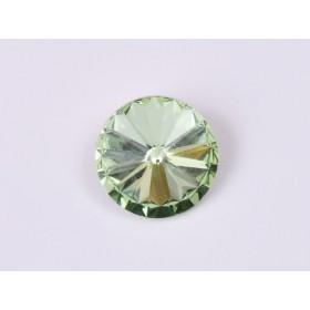 G1709- Inel Logodna de argint 925 cu cristal de 6MM, diametru 16.00MM - 1Buc