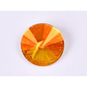 G1712- Inel Logodna de argint 925 cu cristal de 6MM, diametru 17.00MM - 1Buc