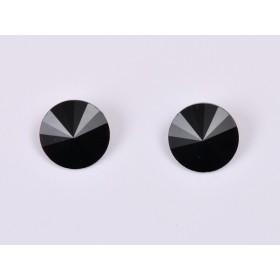G1716- Inel Logodna de argint 925 cu cristal de 6MM, diametru 18.30MM