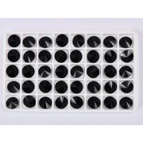 G1717- Inel Logodna de argint 925 cu cristal de 6MM, diametru 18.70MM