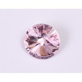 G1718- Inel Logodna de argint 925 cu cristal de 6MM, diametru 19.00MM - 1Buc