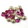 P1299-Swarovski Elements 1088 Fuchsia Foiled SS34 7mm 1 buc