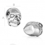 G1809-Dinstantier argint Skull 6.90MM- 1 buc