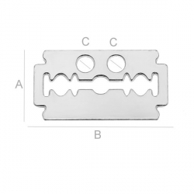G1813-Charm lama argint 30x16.5MM 1 buc