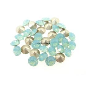 2070-Swarovski Elements 1088 Black Diamond Foiled PP 18 2.5mm