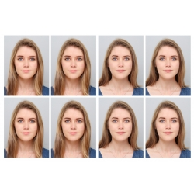 Printare fotografii tip buletin/diploma 3x4cm 8 bucati pe coala 10x15cm