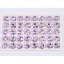 G1818-Baza pandant pentru Swarovski 4744 Flower 10MM-RIGHT