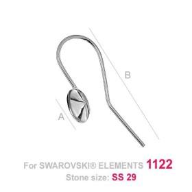 P1316-SWAROVSKI ELEMENTS 4841-Crystal Golden Shadow Unfoiled 6mm