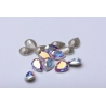 P3399-Swarovski Elements 4320 Crystal Aurore Boreale Foiled 10x7mm