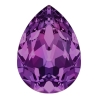 P3404-Swarovski Elements 4320 Amethyst 10x7mm 1 buc