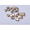 P3408-Swarovski Elements 4320 Crystal Golden Shadow Foiled 10x7mm