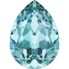 P3413-Swarovski Elements 4320 Light Turquoise 14x10mm 1 buc
