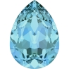 P3405-Swarovski Elements 4320 Aquamarine 14x10mm 1 buc