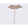 G0669-Baza Link Argint 925 Swarovski Rivoli 1122 12mm-1 buc