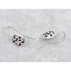 G1862-Tija Argint 925 cercel rotund 8MM-1buc