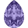P3424-Swarovski Elements 4320 Tanzanite 14x10MM-1buc