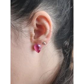 Inel cu Ceralun si Swarovski Xirius 1088 Multicolor, diamentru 19MM