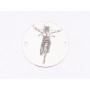 P3428-Swarovski Elements 4933 Tilted Dice Crystal Sahara 19mm