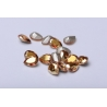 P3429-Swarovski Elements 4320 Metallic Sunshine Foiled 14x10mm