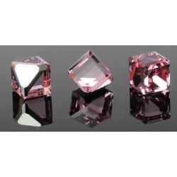 P1358-SWAROVSKI ELEMENTS 4841 Light Rose Comet Arg. Unfoil  6mm
