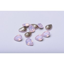 P3434-Swarovski Elements 4320 Rose Water Opal Foiled 14x10mm 1 buc