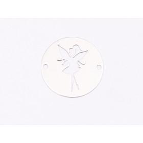 P3435-Swarovski Elements 4320 Crystal Moonlight Foiled 14X10mm