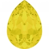 P3437-Swarovski Elements 4320 Yellow Opal Foiled 14x10mm-1buc