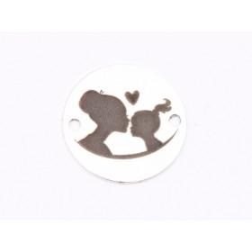 P3438-Swarovski Elements 4320 White Opal 14x10MM 1 buc