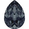 P3454-Swarovski Elements 4320 Graphite Foiled 14x10MM-1buc