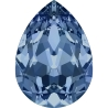 P3455-Swarovski Elements 4320 Montana Foiled 10x7MM-1buc