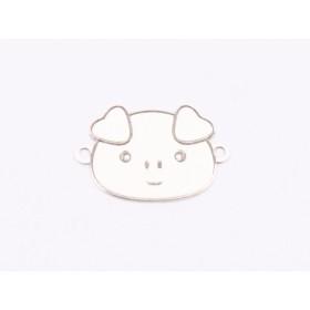Serviciu constructie inel pear 14mm cu Ceralun si cristale Swarovski