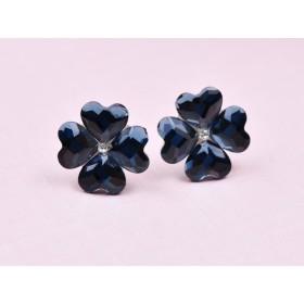 Inel Light Rose cu Ceralun si Swarovski Xirius 1088 Crystal diametru 19MM