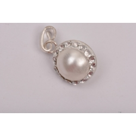 Serviciu constructie pandant xirius 13mm cu Ceralun cristale Swarovski si perle div dimensiuni