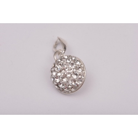 Serviciu constructie pandant xirius 13mm cu Ceralun cristale Swarovski si perle 10mm