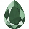 P3465-Swarovski Elements 4320 Crystal Royal Green Unfoiled 14x10MM-1buc
