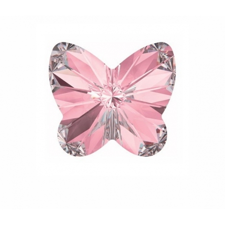 P1367-SWAROVSKI ELEMENTS 4748 Light Rose Foiled 10mm