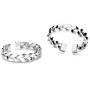 G1869-Tije din Argint 925 pentru Swarovski Elements 4320 10MM-1buc