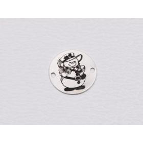 G1882-Inel argint 925 pentru gravat 21.50mm-1buc
