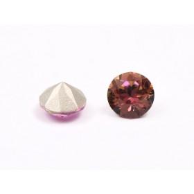 Pandant 13 mm cu Ceralun si Swarovski Xirius 1088 Crystal si perle div dimensiuni