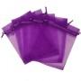 AU047-Tija cercel simbolul pacii Aur 585 14k 10mm-1buc
