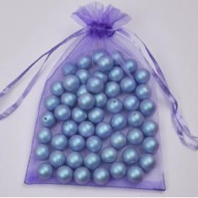 AU048-Cercei tija floare Aur 585 14k 10mm-PERECHE