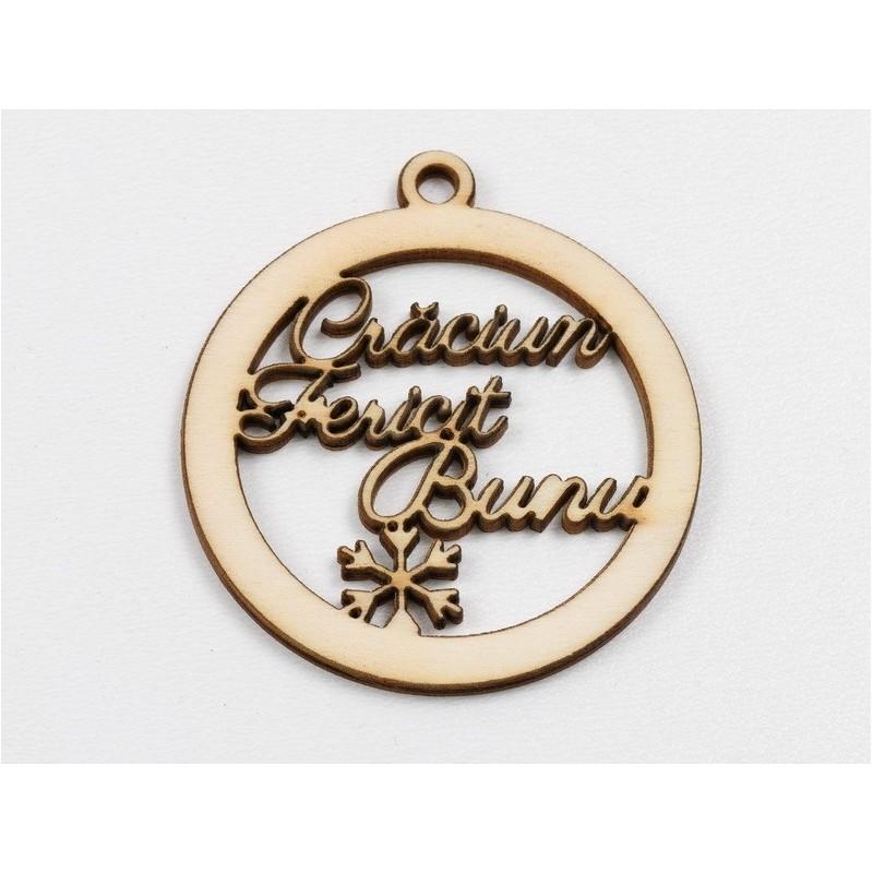 G1888-Pandantiv/Link patrat Argint 925 cu model floral 15.80mm-1buc