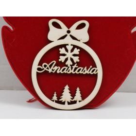 G1889-Leverback Argint 925 Swarovski Rivoli 18MM-1buc