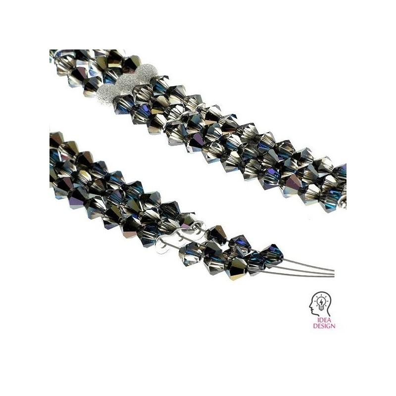 P1369-SWAROVSKI ELEMENTS 1122 Crystal Bronze Shade 16mm