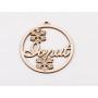 G1895-Distantier cu bucla argint 925 10mm-1buc